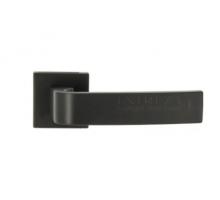 """Дверная ручка Extreza Hi-Tech """"SOUND"""" (Саунд) 106 R11 черный F22"""