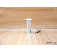 Упор магнитный напольный дверной FANTOM PREMIUM HGT001 Матовый Хром