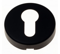 Накладка под цилиндр на круглом основании Fratelli Cattini CYL 7-NM матовый черный 2 шт.