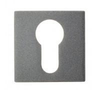 Накладка под цилиндр на квадратном основании Fratelli Cattini CYL 8-GA антрацит серый 2 шт.