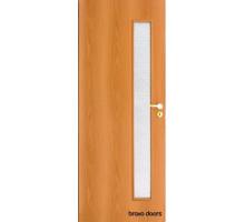 Межкомнатная дверь Bravo Симпл (в комплекте) миланский орех