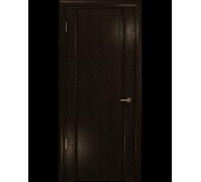 Межкомнатная шпонированная дверь Арт Деко Premium Спациа-1 Gold