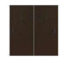 Металлическая дверь Стройгост 5-1 Металл/Металл Венге, Итальянский орех