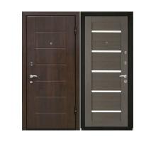 Металлическая дверь М7 Темный Орех