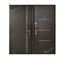 Металлическая дверь Манчестер Венге