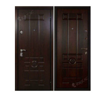 Металлическая дверь Рим Дуб темный