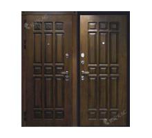 Металлическая дверь Элит Дуб золотистый