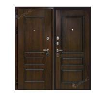 Металлическая дверь Лондон Дуб темный