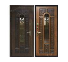 Металлическая дверь Лацио Дуб темный