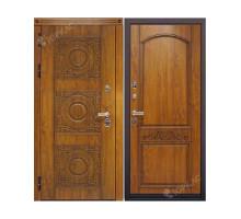Металлическая дверь Милано Дуб золотистый