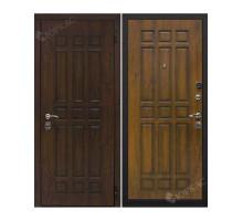 Металлическая дверь Троя Дуб темный