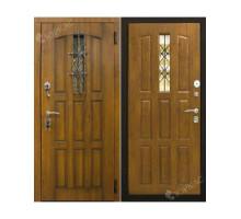 Металлическая дверь Турин Дуб золотистый