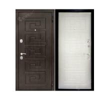 Металлическая дверь Крит Каштан