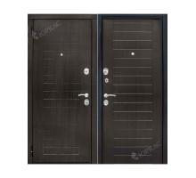 Металлическая дверь Каскад Венге