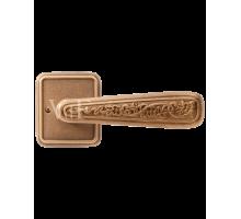 """Дверная ручка VAL DE FIORI DH 703-72 YB """"Николь"""", латунь состаренная"""