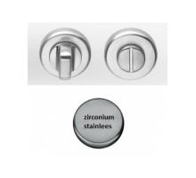 Дверная Накладка Cd49 Bzgg Colombo Zirconium Stainless Steel Накладка-Стопор Цирконий (Нержавеющая Сталь)