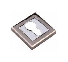Накладка на ключевой цилиндр Adden Bau SC Q001 BLACK NICKEL Чёрн.Никель / Хром