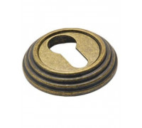 Накладка круглая под евроцилиндр Adden Bau SC V001 Состаренная бронза