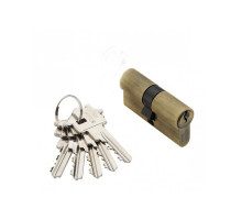 Ключевой цилиндр Adden Bau CYL 5-60 KEY BRONZE Бронза; ключ-ключ
