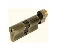 Ключевой цилиндр CYL 5-60 KNOB бронза