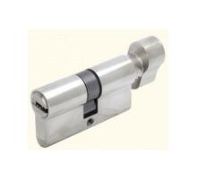 Ключевой цилиндр Adden Bau CYL 5-60 KNOB CHROME Хром; ключ-вертушка