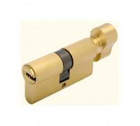 Ключевой цилиндр CYL 5-60 KNOB золото
