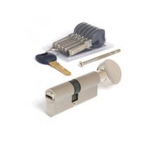 Цилиндровый механизм Apecs Premier CD-75(35/40C)-C-NI никель