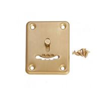 Накладка декоративная Apecs DP-S-01-GM-shutter матовое золото