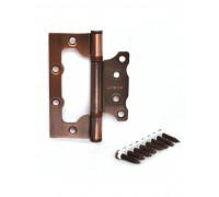 Петля стальная универсальная без врезки Apecs 100*75*2,5-B2-Steel-AC медь