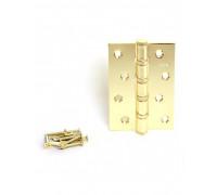 Петля стальная Apecs 100*70-B4-Steel-G золото