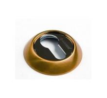 Накладка круглая под евроцилиндр CL 1 матовое золото