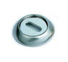 Накладка круглая под флажковый ключ SILLUR OB P.CHROME хром