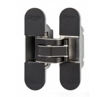 Петля скрытая Cemom Estetic 80/A 3D (черный), 80 кг