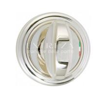 Фиксатор поворотный Extreza WC R01 натуральное серебро + черный F24
