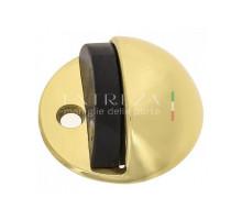 Упор дверной напольный Extreza D41 полированное золото F01