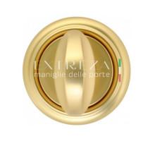 Фиксатор поворотный Extreza WC R01 французское золото + коричневый F59