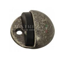 Упор дверной напольный Extreza D41 античное серебро F45