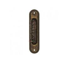 Ручка купе Extreza P603 античная бронза F23