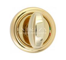 Фиксатор поворотный Extreza WC R01 полированное золото F01