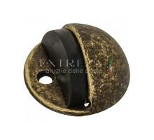 Упор дверной напольный Extreza D41 античная бронза F23