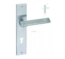 Дверная ручка на планке под сантехзавертку Forme 216/P06 WC Venus Полированный хром