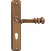 Дверная ручка Forme на планке под сантехзавертку Forme 159/Atlas RAT WC Atlas Матовая бронза