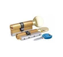 Цилиндровый механизм c вертушкой 164 YGSM/68 (26+10+32) mm латунь 5 кл.