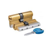 Цилиндровый механизм 164 YGS/90 (45+10+35) mm латунь 5 кл.