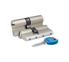 Цилиндровый механизм 164 YGS/90 (45+10+35) mm никель 5 кл