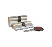 Цилиндровый механизм повышенной взломостойкости 164 CEC/68 (26+10+32) mm никель 5 кл.