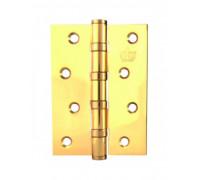 CORONA (Мелодия) Петля универсальная FLAT латунная 100х75хЗ,0 мм ПОЛИРОВАННАЯ ЛАТУНЬ
