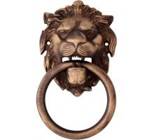 Ручка - гонг Melodia на входную дверь 603 LEONE 190x110 Матовая бронза