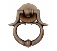 Ручка - гонг Melodia на входную дверь 601 BAROCCO 150 mm Матовая бронза