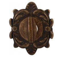 Завертка Melodia Wc на овальной розетке Z Античная бронза